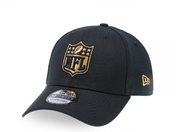 New Era NFL Logo Gold Edition 39Thirty Stretch Cap