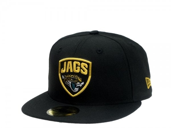 New Era Jacksonville Jaguars all about black Edition 59Fifty Fitted Cap