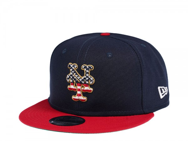 New Era New York Mets 4th July Edition 9Fifty Snapback Cap