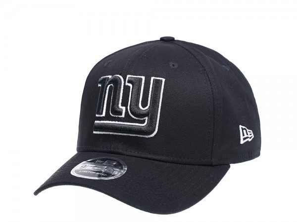 New Era New York Giants Curved Black Edition 9FIFTY Stretch Snapback Cap