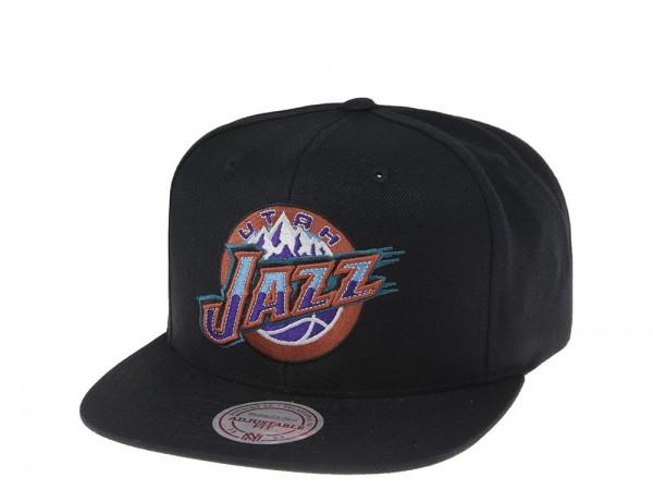 Mitchell & Ness Utah Jazz Wool Solid Snapback Cap