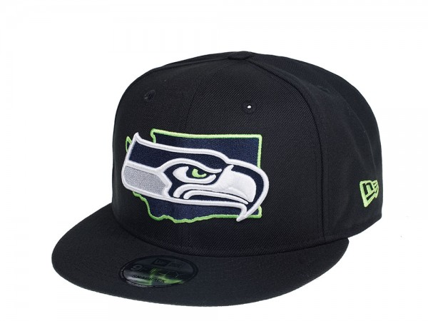 New Era Seattle Seahawks State Edition 9Fifty Snapback Cap