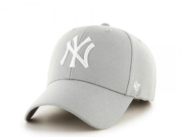 47brand New York Yankees Grey MVP Snapback Cap