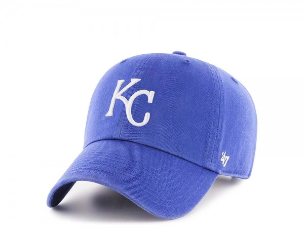 47Brand Kansas City Royals Clean Up Strapback Cap