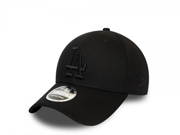 New Era Los Angeles Dodgers All Black 9Forty Stretch Snapback Cap