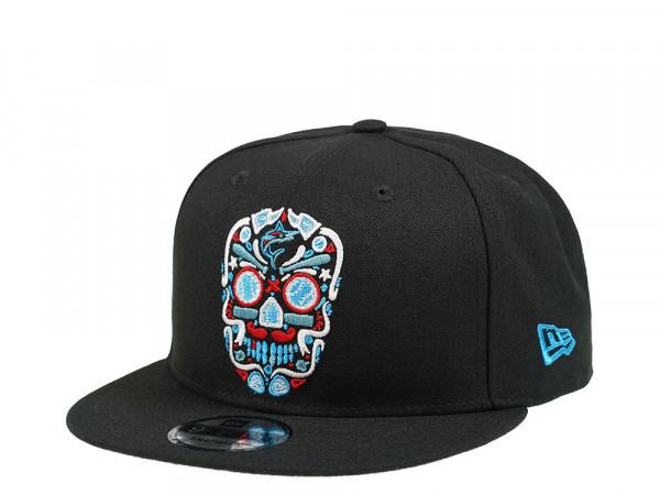 New Era Miami Marlins Skull Edition 9Fifty Snapback Cap