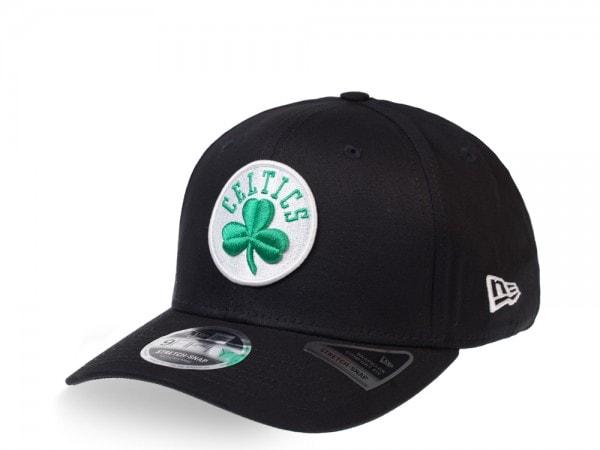 New Era Boston Celtics Black 9Fifty Stretch Snapback Cap