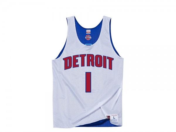 Mitchell & Ness Detroit Pistons - Allen Iverson All-Star 2009 Reversible Mesh Jersey