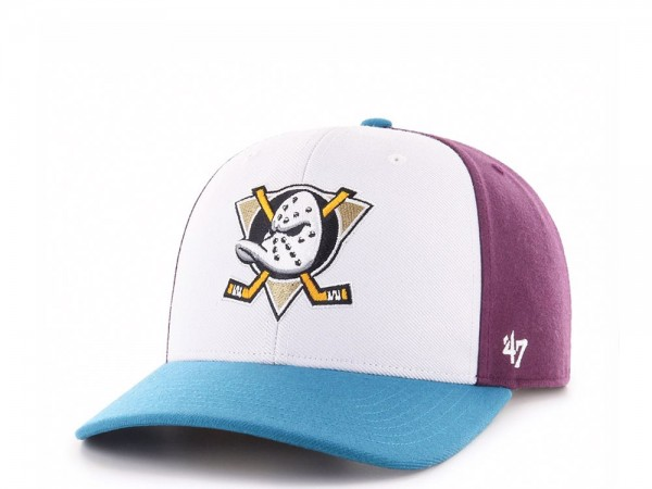 47Brand Anaheim Ducks Cold Zone MVP DP Snapback Cap