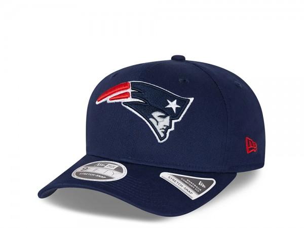 New Era New England Patriots Navy 9Fifty Stretch Snapback Cap
