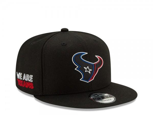 New Era Houston Texans NFL Draft 20 9Fifty Snapback Cap