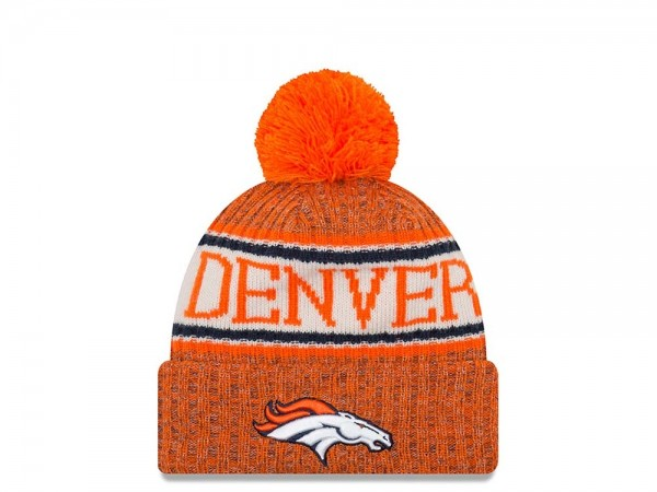 New Era Denver Broncos Sideline 2018 Mütze
