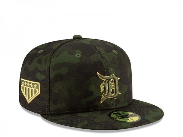 New Era Detroit Tigers Armed Forces Day On Field Fitted 59Fifty Cap