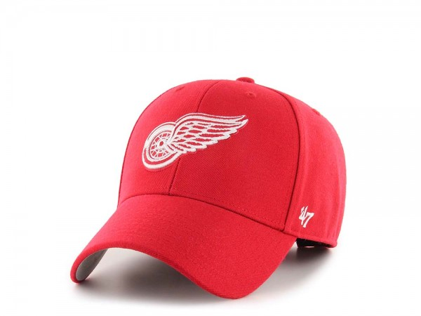47Brand Detroit Redwings MVP Red Strapback Cap