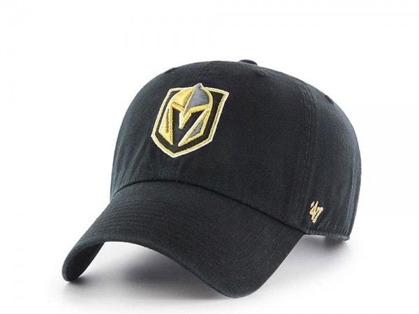 47Brand Vegas Golden Knights Clean Up Strapback Cap