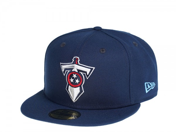New Era Tennessee Titans All Navy Edition 59Fifty Fitted Cap