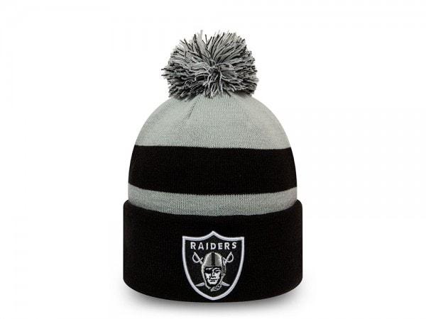 New Era Oakland Raiders Striped Mütze