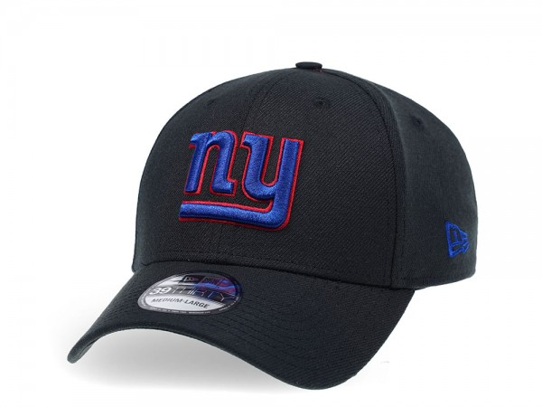 New Era New York Giants Curved Black Edition 39Thirty Stretch Cap