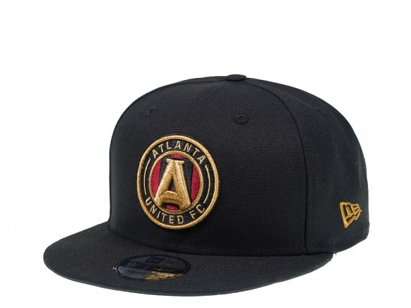 New Era Atlanta United FC Black Edition 9Fifty Snapback Cap