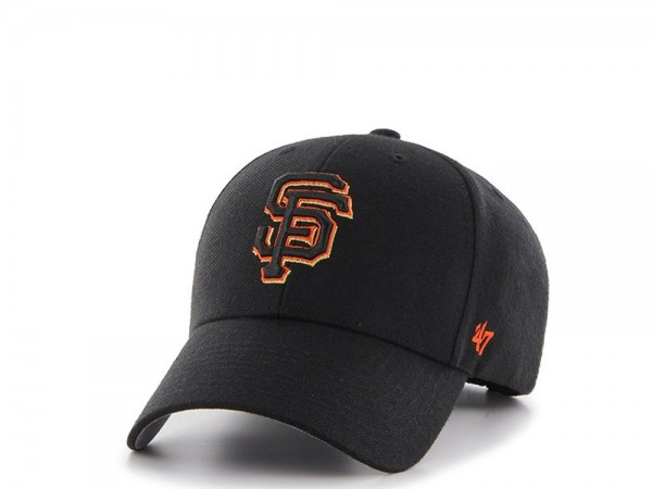 47brand San Francisco Giants Curved MVP Snapback Cap