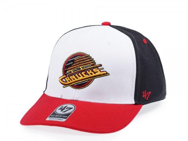 47Brand Vancouver Canucks Vintage MVP DP Snapback Cap