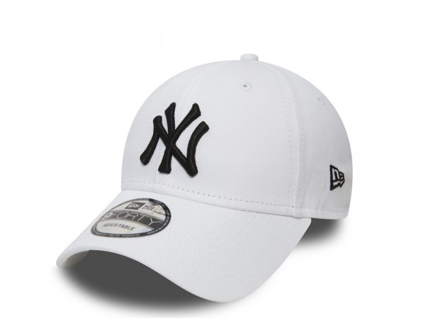 New Era New York Yankees White 9forty Adjustable Cap