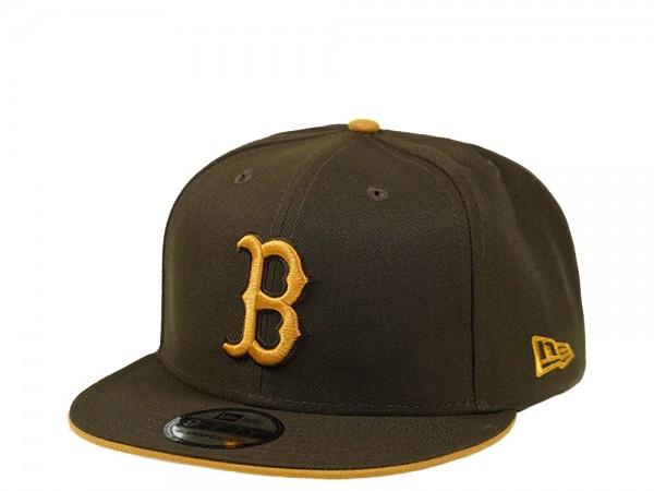 New Era Boston Red Sox Walnut Edition 9Fifty Snapback Cap