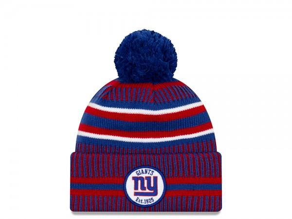 New Era New York Giants Sideline 2019 Home Mütze