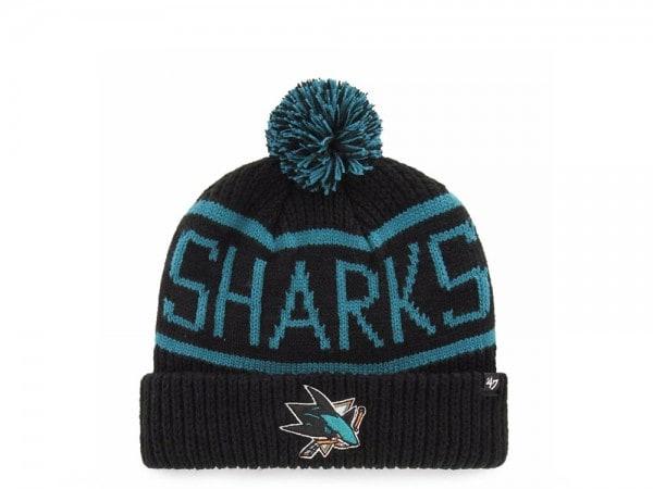 47 Brand San Jose Sharks Calgary Cuff Mütze