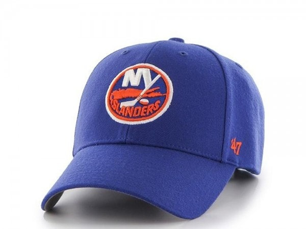 47brand New York Islanders MVP Strapback Blue Cap
