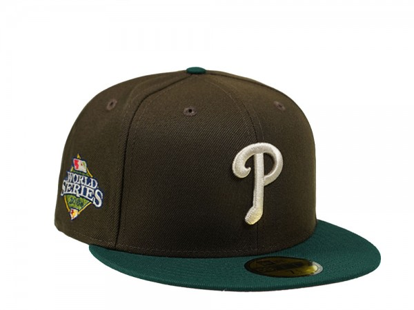 New Era Philadelphia Phillies World Series 2008 Forrest Pink Edition 59Fifty Fitted Cap