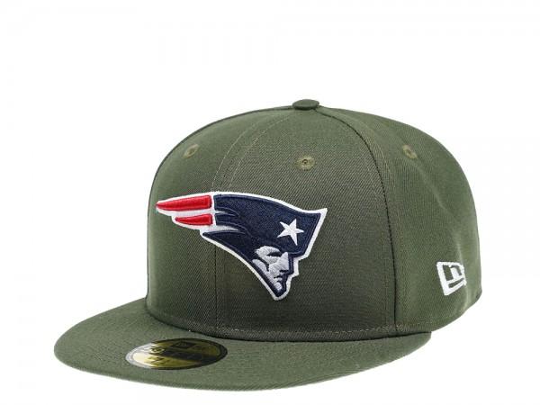 New Era New England Patriots Woodgreen SB39 59Fifty Fitted Cap