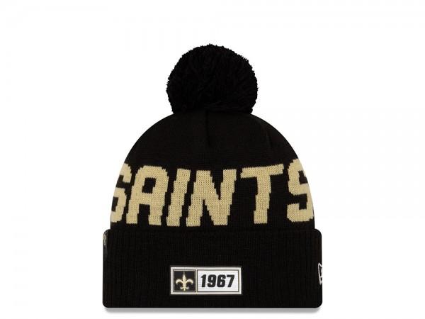 New Era New Orleans Saints Sideline 2019 Road Mütze