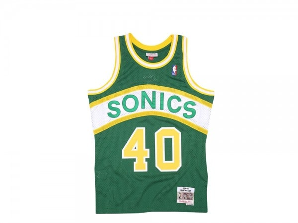 Mitchell & Ness Seattle Super Sonics - Shawn Kemp Swingman 1994-95 Jersey