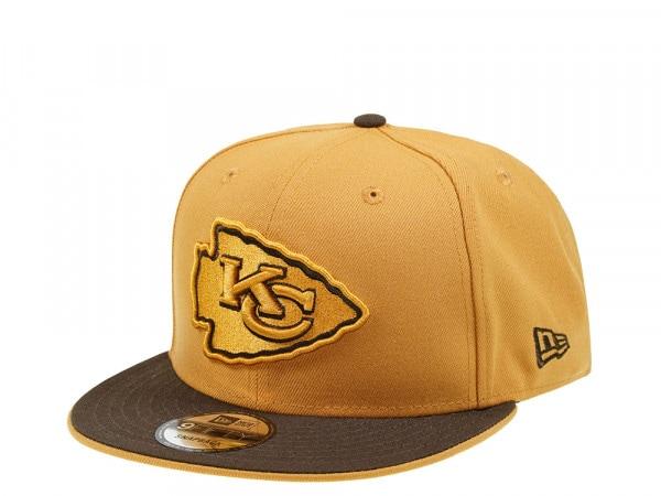 New Era Kansas City Chiefs Panama Two Tone 9Fifty Snapback Cap