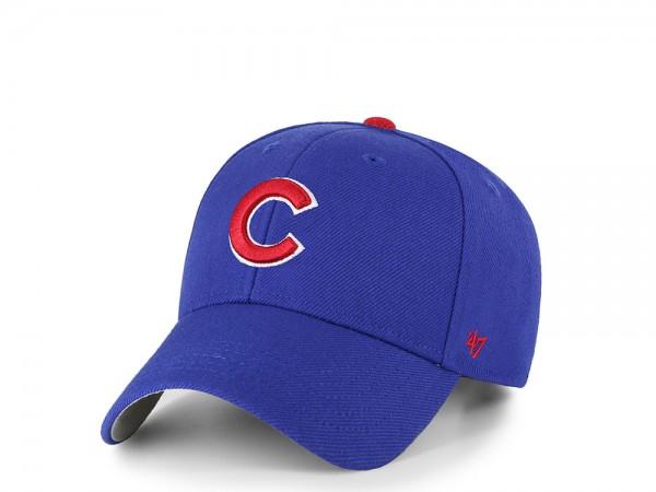 47Brand Chicago Cubs MVP Blue Strapback Cap