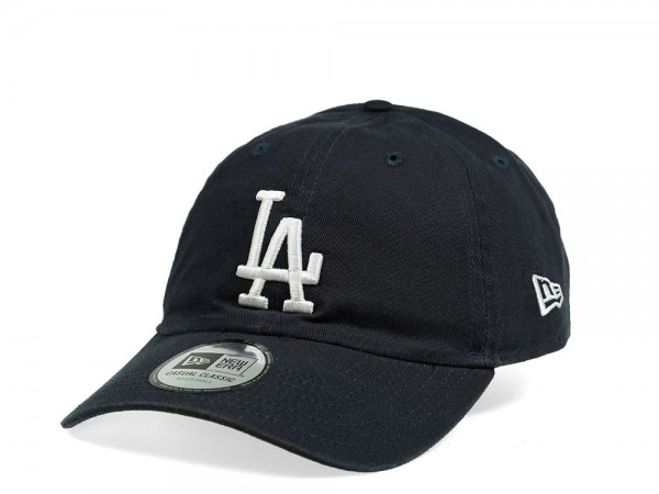 New Era Los Angeles Dodgers Casual Classic Navy Strapback Cap