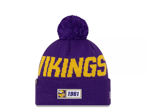New Era Minnesota Vikings Sideline 2019  Road Mütze