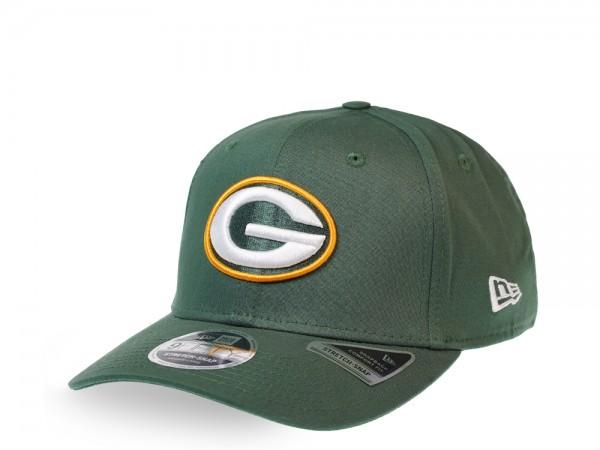 New Era Green Bay Packers Green 9Fifty Stretch Snapback Cap
