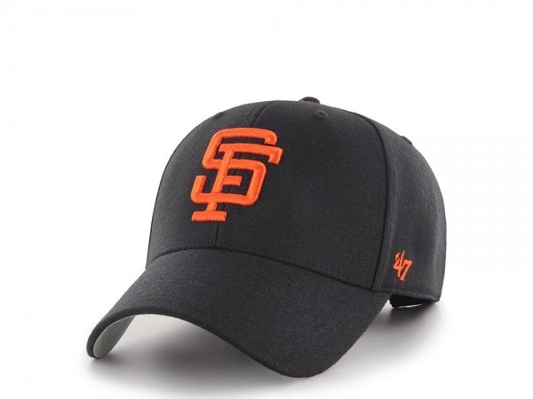 47Brand San Francisco Giants Throwback Logo MVP Snapback Cap