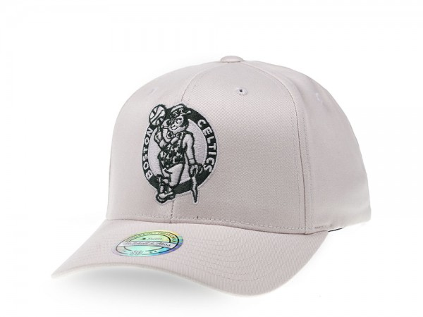 Mitchell & Ness Boston Celtics Stone White Edition 110 Flex Snapback Cap