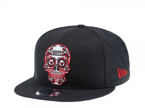 New Era Chicago Bulls Skull Edition 9Fifty Snapback Cap