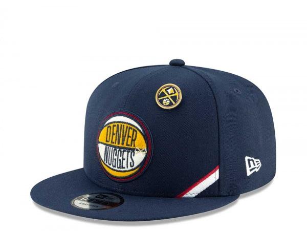 New Era Denver Nuggets Draft 19 9Fifty Snapback Cap