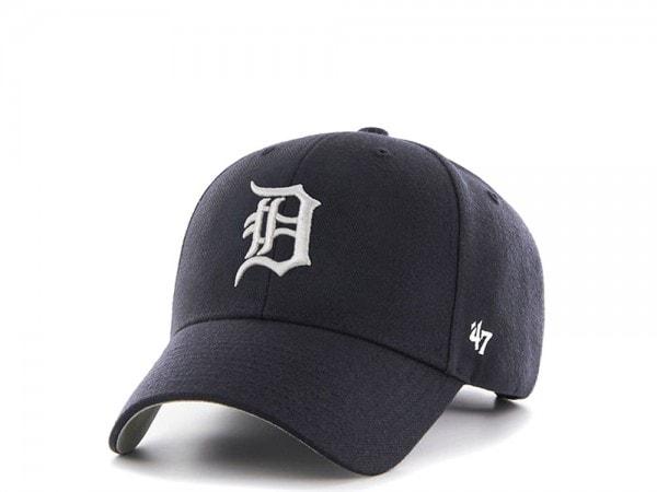 47brand Detroit Tigers MVP Curved Strapback Cap