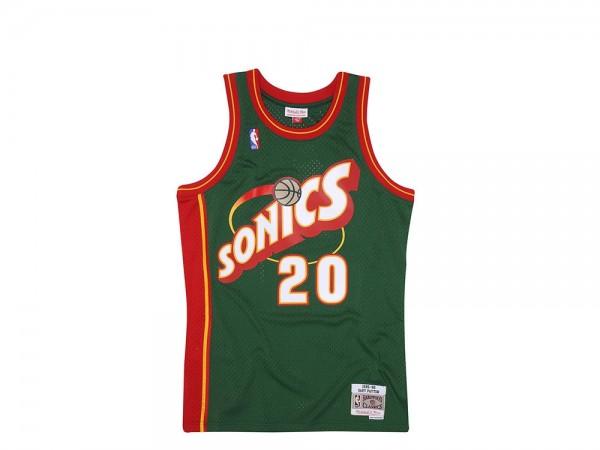 Mitchell & Ness Seattle Super Sonics - Gary Payton Swingman 1995-96 Jersey