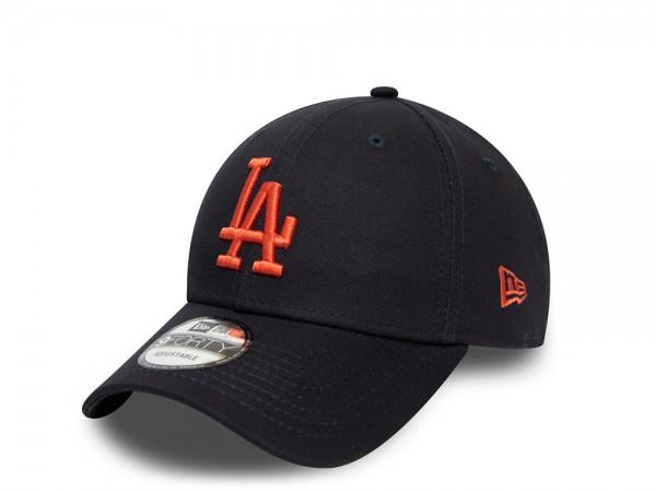New Era Los Angeles Dodgers Navy Essential 9Forty Strapback Cap