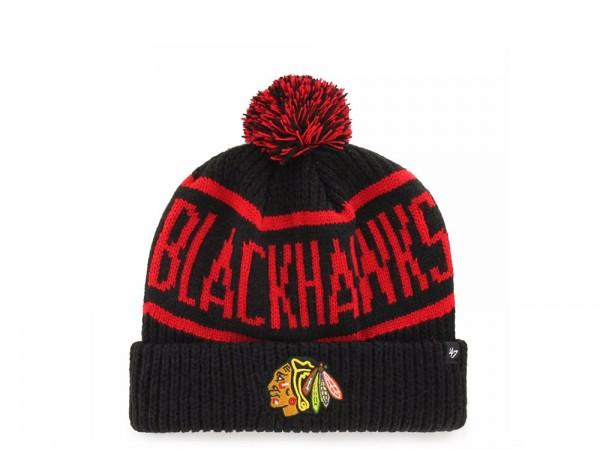 47 Brand Chicago Blackhawks Calgary Cuff Mütze