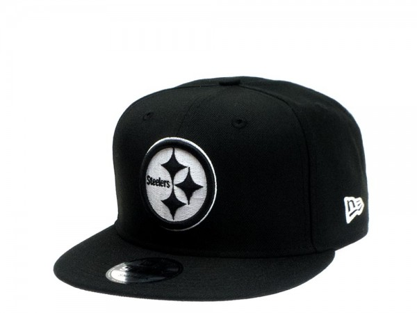 New Era Pittsburgh Steelers All About Black Edition 9Fifty Snapback Cap