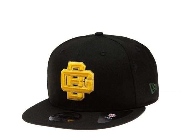 New Era Green Bay Packers All About Black Edition 9Fifty Snapback Cap