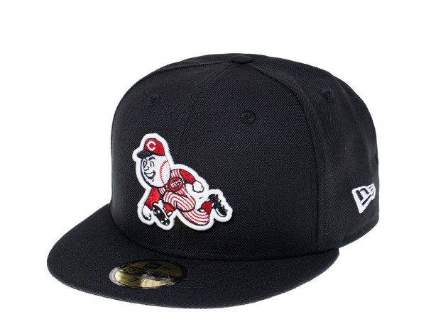New Era Cincinnati Reds Throwback Edition 59Fifty Fitted Cap